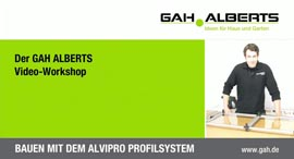 Alvipro - das universale Profilsystem für selbstgebaute Möbel