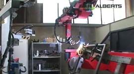 Produktion eines Wellengittertores
